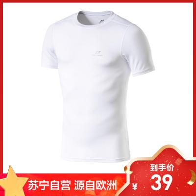 PRO TOUCH專業健身品牌源自歐洲新款 Keene ux 男子跑步訓練健身運動速干緊身短袖T恤 308214-001