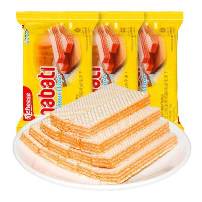 Richeese/麗芝士nabati納寶帝芝士威化餅干58g*2包
