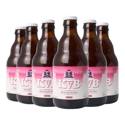 Keizerrijk 比利時進口 精釀啤酒 布雷帝國玫瑰啤酒330ml*6瓶