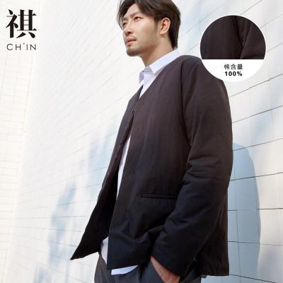 【1件3折價:176.7】CHIN祺棉衣男薄款外套秋冬款新薄棉服上衣中國風復古外套
