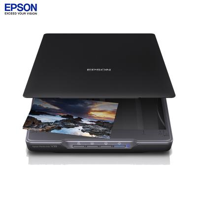 爱普生(EPSON)Perfection V39 超紧凑型照片与文档平板式扫描仪(黑色)