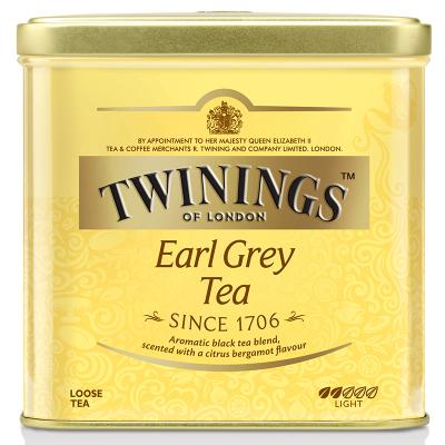 英国川宁(TWININGS) 豪门伯爵红茶听装500g 波兰进口茶叶散茶