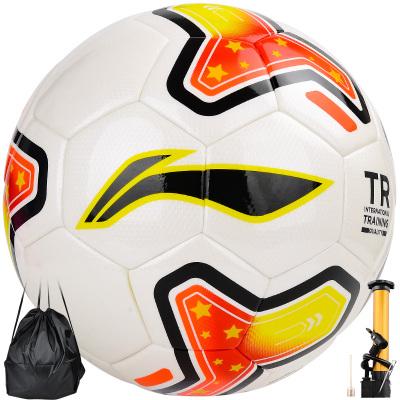 李寧LI-NING 足球 5號標準足球青少年訓練比賽足球 學生兒童休閑娛樂足球