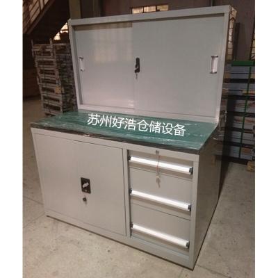 定做 生產工具柜移門柜 模具臺 組合式工作臺 工具桌 鉗工桌