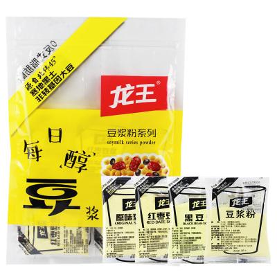 龙王豆浆粉原味早餐豆浆粉商用家用豆粉速溶小包装16包豆浆