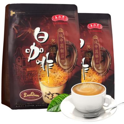 马来西亚进口 三叔公老钱炭烧咖啡480克*2袋装 三合一速溶咖啡粉24条