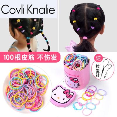 兒童頭繩不傷橡皮筋韓版盒裝繩女孩扎頭圈皮筋寶寶頭飾