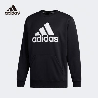 阿迪達斯Adidas衛衣男2020圓領運動套頭衫新款長袖T恤FM5341