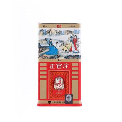 正官莊高麗參地參40支37.5g(3根)韓國原裝進口(Korean Red Ginseng) 六年根人參 紅參 滋補禮品