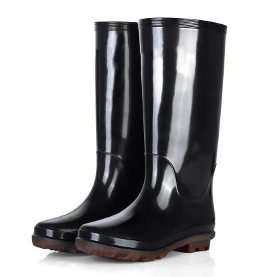 高筒雨鞋防水鞋男士雨靴高幫時尚雨鞋男廚房工作鞋防滑水鞋膠鞋男莎丞