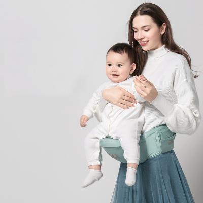 babycare嬰兒背帶輕便多功能四季寶寶前抱式坐腰凳小孩抱帶凳夏季 均碼 香檳粉