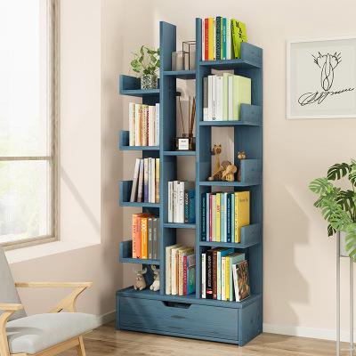 騰煜雅軒 簡約現代 人造板式書房家具 創意書架書柜客廳置物架桌上家用落地經濟型簡易小書架子