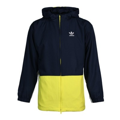 阿迪達斯(adidas)三葉草 秋季男子連帽運動夾克外套 DP8549