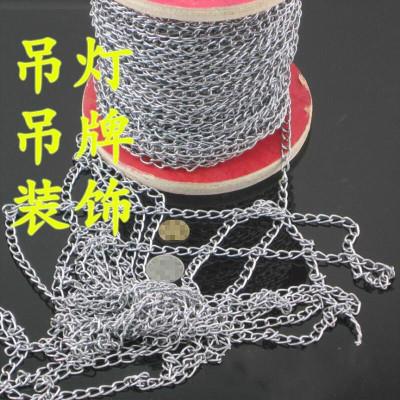 定做 細鐵鏈 鏈條 燈架吊鏈吊牌鏈子纖細鍍鋅鏈 裝飾鏈 吊燈鏈1米