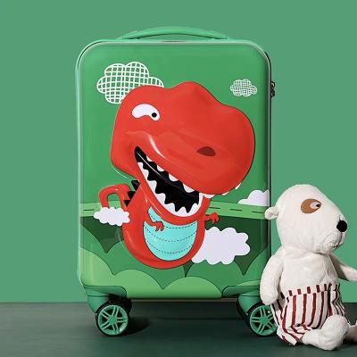 杯具熊輕便行李箱小型兒童登機箱17寸拉桿箱萬向輪旅行箱便攜箱子