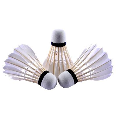 红双喜,DHS启傲鹅毛球天然羽毛球3只装娱乐用球3只装系列03型号