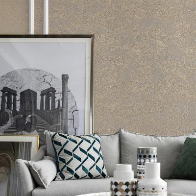 洛蔓 無縫壁布無紡布吸音磨砂凈化墻布 客廳電視背景墻現代簡約北歐素色墻布 云影