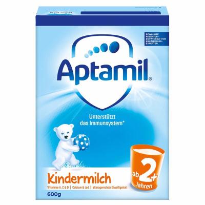 aptamil德國愛他美嬰幼兒配方奶粉2+段5段2歲以上600g德國原裝進口