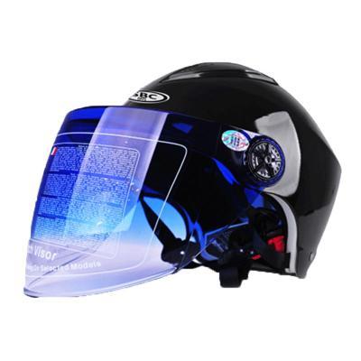 電動車頭盔安全帽男女可愛個性防曬頭盔 騎士款