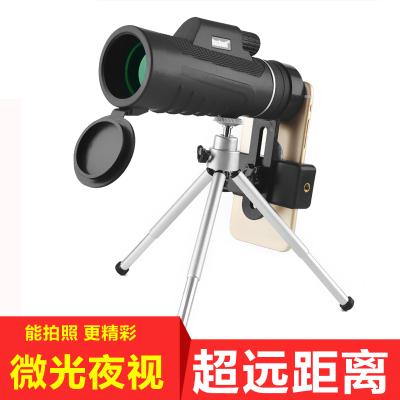 立视德战狼单筒望远镜HD-K1042高清大目镜非普通望远镜高清高倍微光夜视ZLISTAR固定倍率两用非双筒