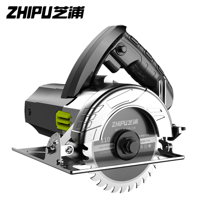 芝浦(ZHIPU)切割機家用小型大功率多功能手提瓷磚石材金屬木材開槽云石機電鋸 加強款3680AW雙鋸片