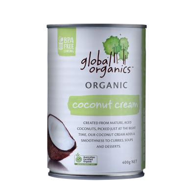 【保稅直發】澳洲進口 Global Organics 有機椰子奶油400g 椰漿椰汁 烘焙良伴