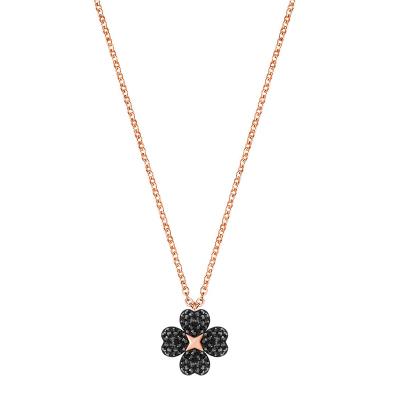 【直營】施華洛世奇SWAROVSKI LATISHA FLOWER雙面花朵人造水晶女士項鏈鎖骨鏈 送戀人