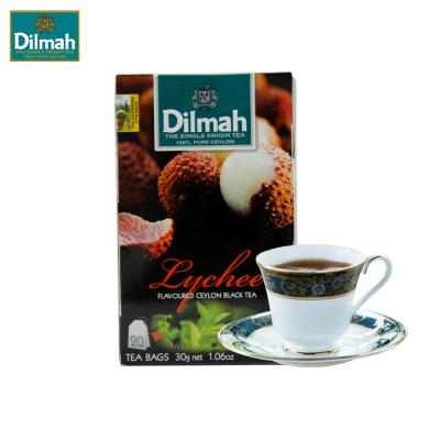 迪尔玛 Dilmah 锡兰红茶 袋泡茶包 办公室下午茶 果味红茶系列(调味茶)30g(1.5g*20包)