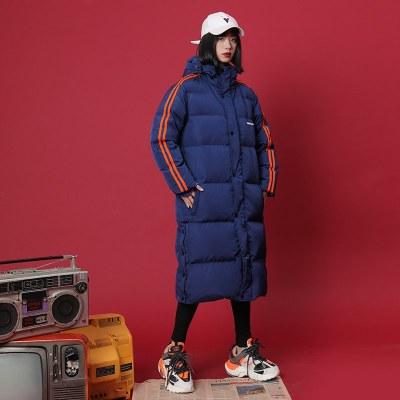 冬季外套羽绒棉服女新款宽松长款过膝棉袄学生加厚棉衣冬