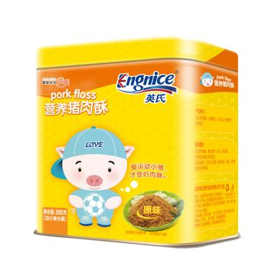 英氏(Engnice)營養豬肉酥 (原味)兒童肉酥 豬肉松 100g 小袋分裝