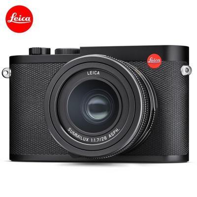 Leica 徠卡 Q2 TYP116 Q2黑色 萊卡Q2 德國原裝 全畫幅 單反照相機 3英寸 有效像素4730萬 定焦人像鏡頭相機 旅游家用便攜式數碼相機