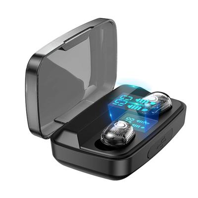 游蝶 M13C新款藍牙耳機 運動跑步雙耳迷你無線耳機 入耳式 LED數顯充電倉 耳機 藍牙 通用蘋果 安卓 華為 小米