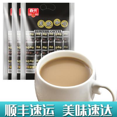 炭烧咖啡570gX3袋 春光 冲调饮品速溶咖啡粉三合一食品特浓传统经典香浓正宗海南特产