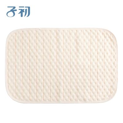 子初 嬰兒彩棉隔尿墊防水透氣寶寶尿布墊兒童純棉可洗 50*70cm
