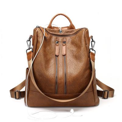 双肩包女包韩版学院风两用背包女士休闲旅行背包