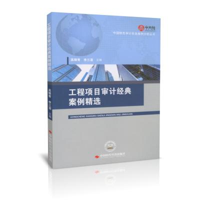工程項目審計經典案例精選 中國特色審計實務案例分析叢書 正版 假一賠十