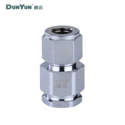 盾运(DUNYUN)燃气用不锈钢波纹管接头Φ13.5*Φ10 整箱销售 336只/箱