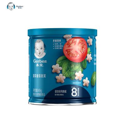 嘉寶(Gerber )菠菜番茄泡芙49克