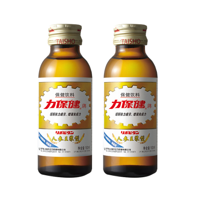 力保健人參蜂王漿保健功能飲料 100ml*2瓶