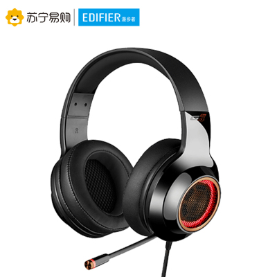 Edifier/漫步者 HECATE G4PRO降噪版 7.1環繞立體聲游戲耳機 黑金色