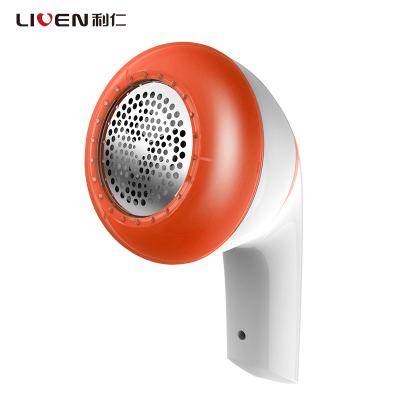 利仁(Liven)JMQ-Q3 橘黃毛球修剪器充電式剃絨器去毛球機除毛器打毛機衣服剃毛器剪毛機
