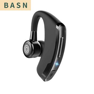 藍牙耳機商務超長待機聲控迷你運動無線vivo華為oppo蘋果小米通用V9升級P9黑色+收納盒 BASN