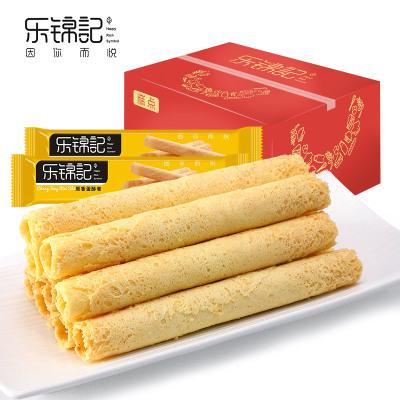 新品【樂錦記蛋酥卷】糕點營養早餐辦公室休閑零食下午茶356g整箱