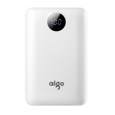 爱国者(Aigo) 充电宝10000毫安 TD03 超薄小巧便携通用大容量官方正品