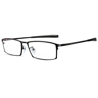 普萊斯男士近視眼鏡 商務純鈦眼鏡框男 大臉 超輕全框寬臉近視鏡 756 可配防藍光眼鏡片 配鏡需聯系客服