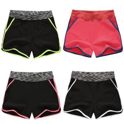 運動短褲女夏跑步大碼速干寬松修身顯瘦健身瑜伽褲防走光內襯胖mm威珺