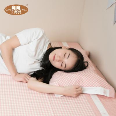 良良 枕巾麻棉透氣吸汗成人情侶枕頭巾四季通用男女單人枕套