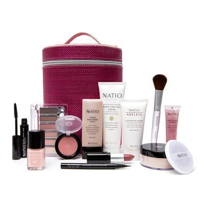 NATIO娜迪奧澳寶七彩護膚彩妝套盒(12件套)輕薄妝容 一套搞定 澳洲進口任何膚質定妝