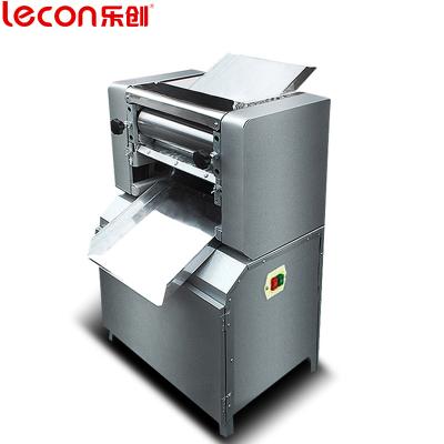 lecon/樂創珍軒  30型商用不銹鋼壓面機 電動揉面壓皮機面皮機制皮機壓餃子皮機