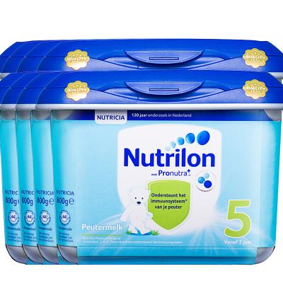 8罐裝 | 荷蘭牛欄嬰幼兒配方奶粉5段安心罐 2歲以上 800g/罐